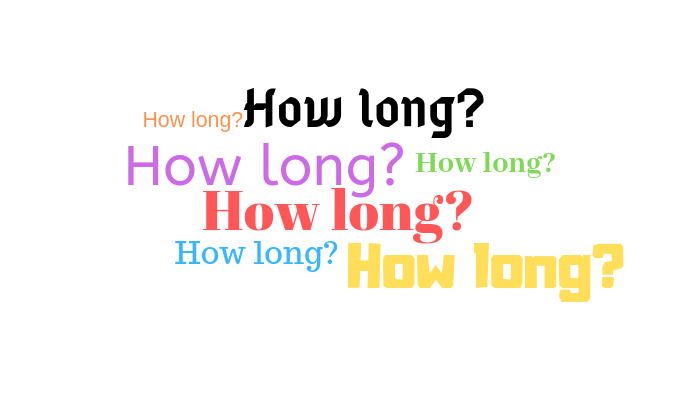How Long  - How To Learn English Speaking At Home