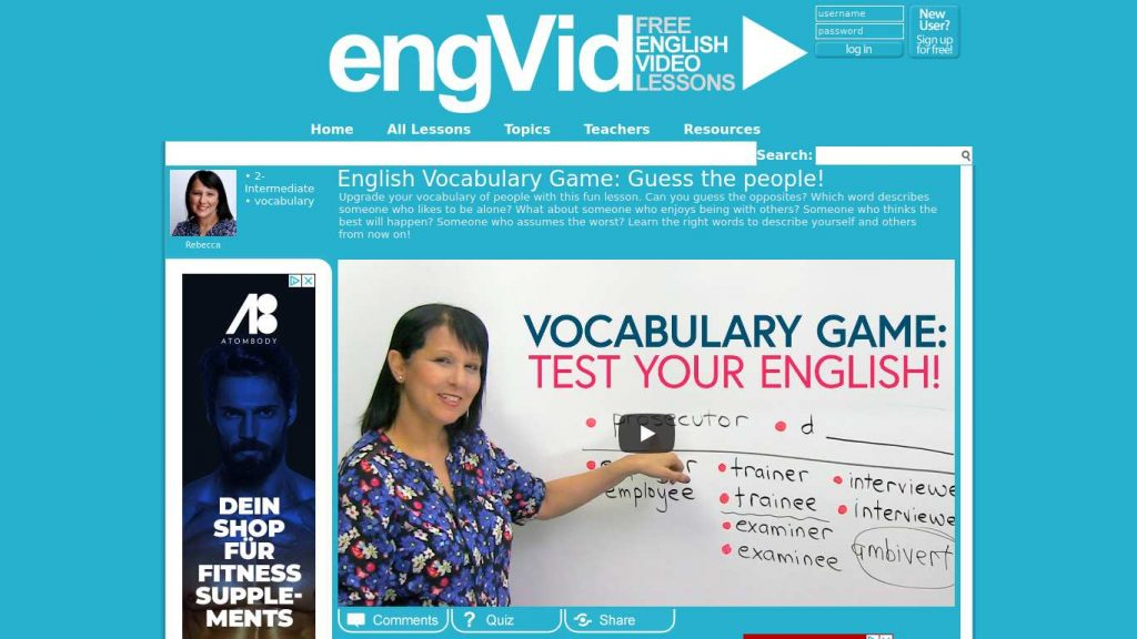 engvid.com  1024x576 - Best Youtube Channels For Learning English