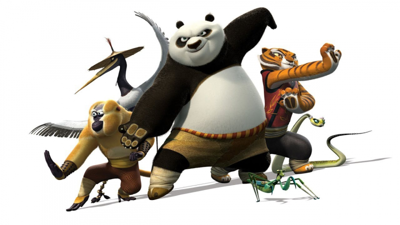 kung fu panda 440532 - The 5 Best Animated Movies That Help Improve Your English