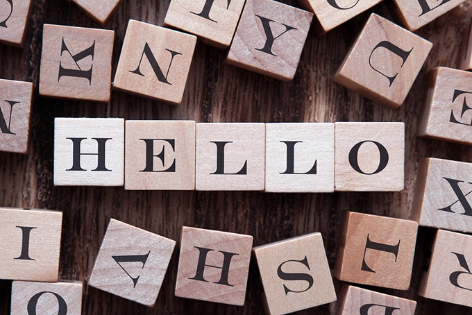 say hello in english - How To Improve English Fluency
