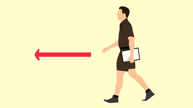 man walking - How To Use TO And FOR In English?