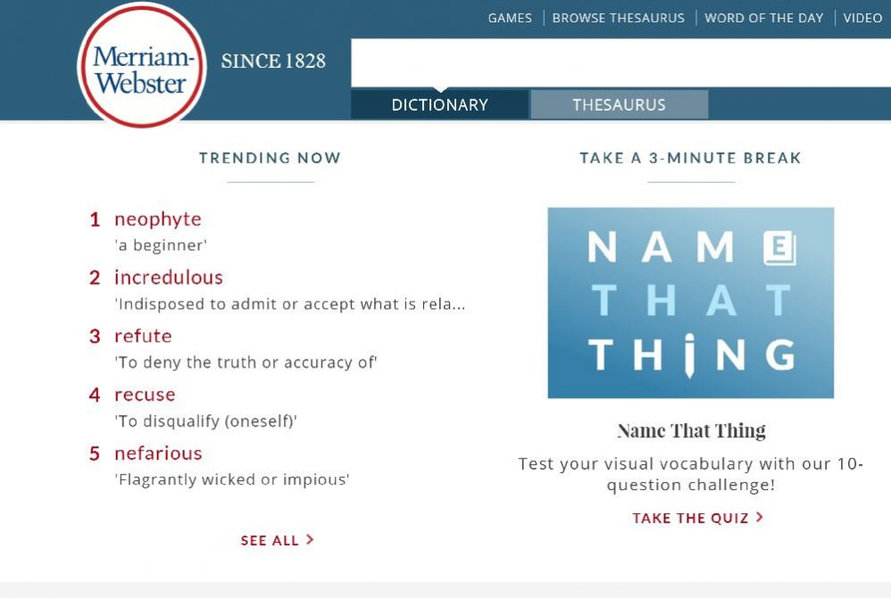 merriamwebster 998x670 1 - 17 Ways to Practice English Daily For Free