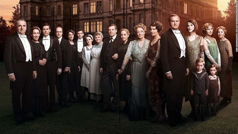 tv show anh quoc hoc tieng anh downton abey - 10 Best British TV Shows To Improve Your English