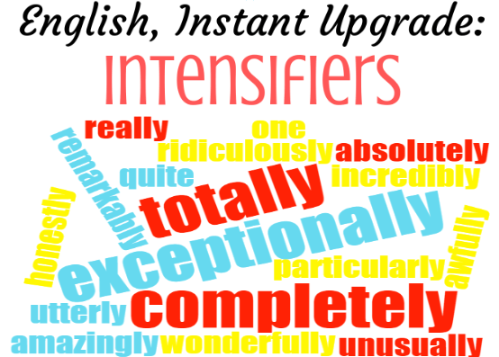 intensifiers e1557252708500 - How to speak like a native English speaker and sound more interesting