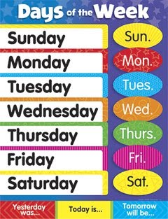 Days of the Week - Lesson 42 - Days of the Week