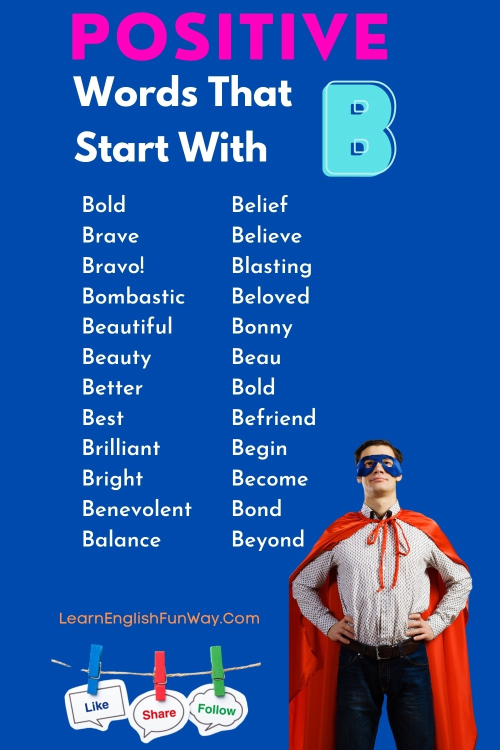 list of positive words that start with B - Positive Words That Start With B