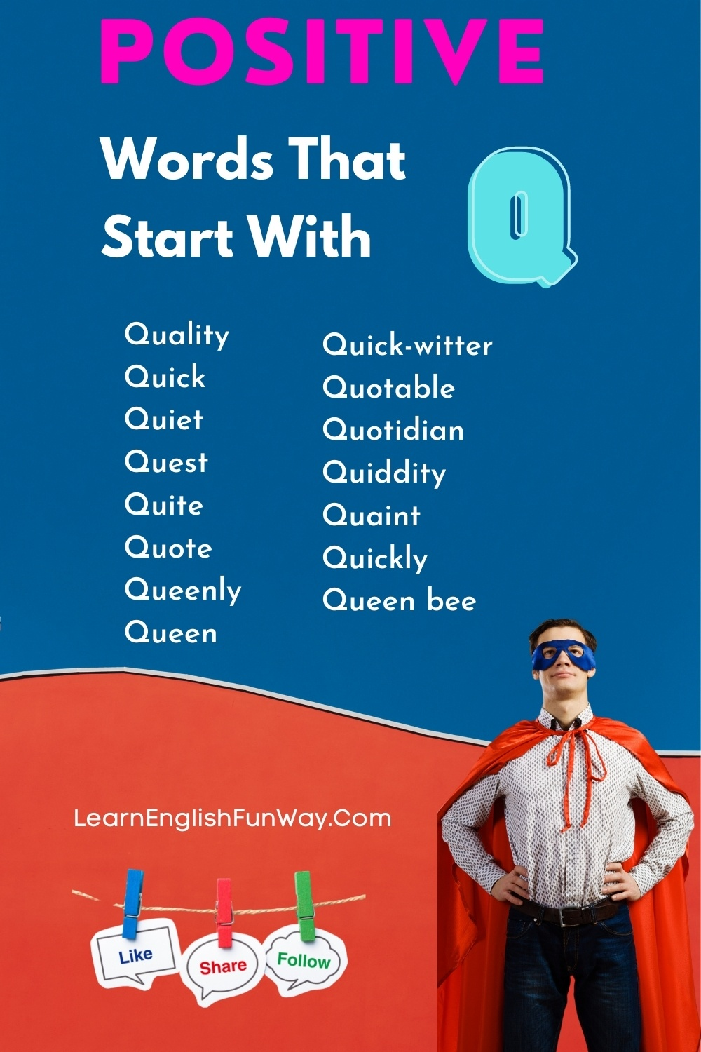 list of positive words that start with Q - Positive Words That Start With Q