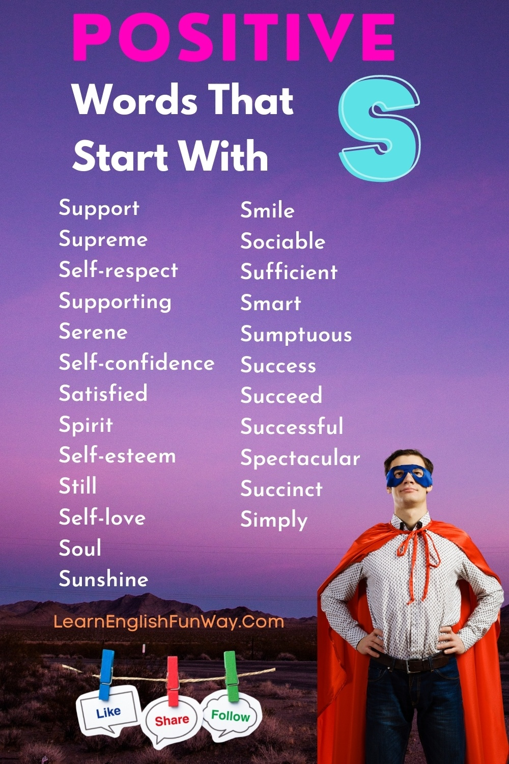 list of positive words that start with S - Positive Words That Start With S