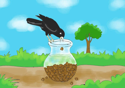 thirsty crow - thirsty crow story in english