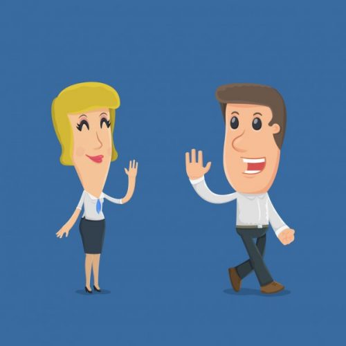 depositphotos 62609489 stock illustration manager says goodbye to the 500x500 - Toodles Meaning - What Does Toodles Mean?