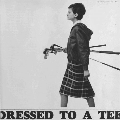 dressed to a tee tatler 27 march 1963 500x500 - To A Tee - To A Tee Meaning